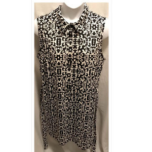 Size 3X Tacera Dress Textured Print